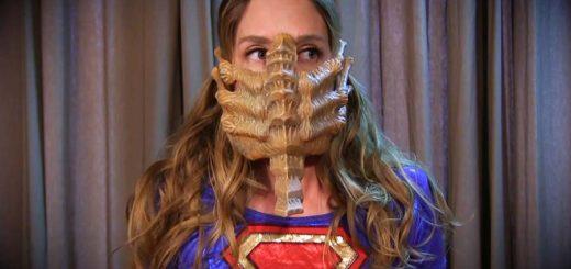 """""""Hostile Takeover: Supergirl vs Alien"""" from Anastasia Pierce"""