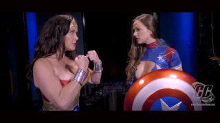 Wonder Woman vs. Ms. America, Fighting Words