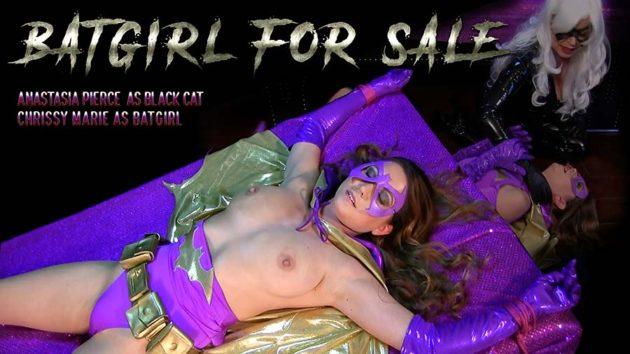 """Batgirl for Sale, vs Black Cat"" from Anastasia Pierce"