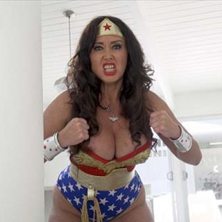 """Wonder Woman vs. Tiny Terror"" from Christina Carter"
