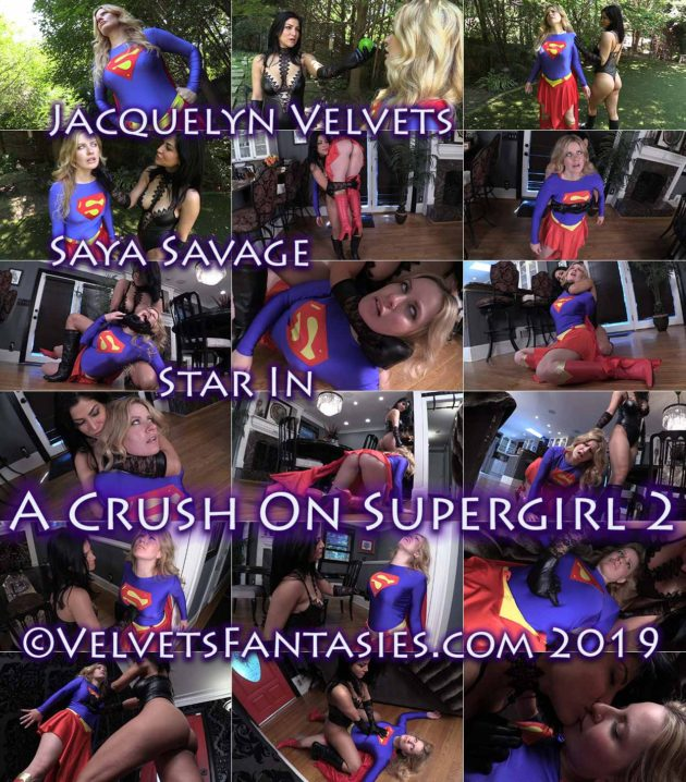 """A Crush on Supergirl Part 2"" from Velvets Fantasies"