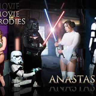 """The Perils of Slave Leia - Leia Captured"" from Anastasia Pierce"