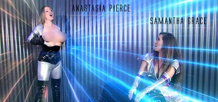 "New ""Brainwashed Super-Heroine Sci-Fi"" from Anastasia Pierce"