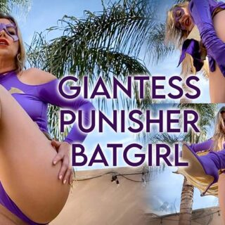 """Giantess Punisher Batgirl"" from Anastasia Pierce"