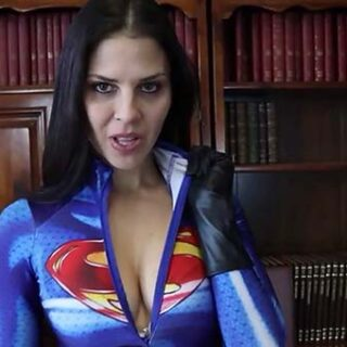 """Supergirl Stunned"" from Cali Logan"