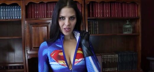 """""""Supergirl Stunned"""" from Cali Logan"""