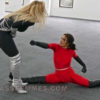 """""""Montana v Vixen"""" Photoset from Kick Ass Femmes"""