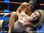 Boobs to Bruise - Paris Kennedy vs. Santana